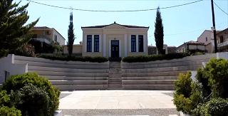 Το μουσείο της Α Εθνοσυνέλευσης στην πλατεία της Νέας Επιδαύρου-Νέα Επίδαυρος - Nea Epidavros