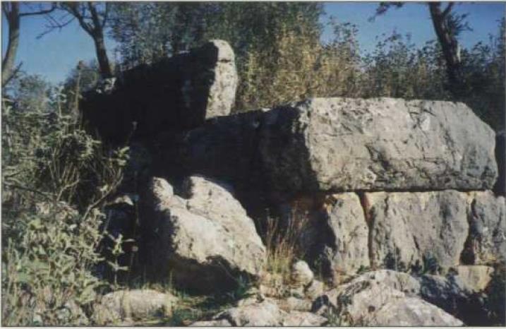 Πυραμίδα στην περιοχή Καμπία Νέας Επιδαύρου